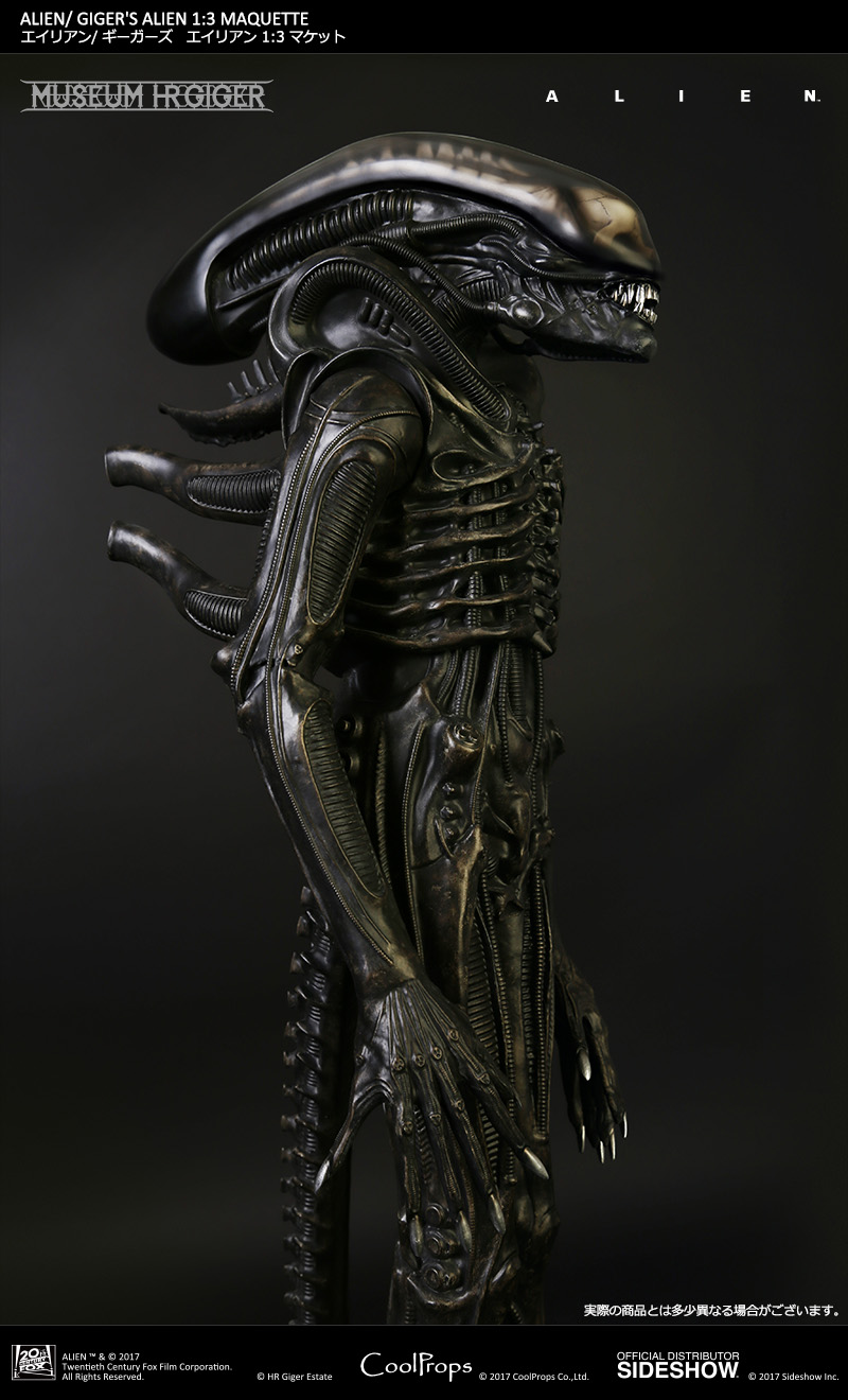 Giger's Alien 1/3 Scale Maquette by CoolProps - The Toyark ...