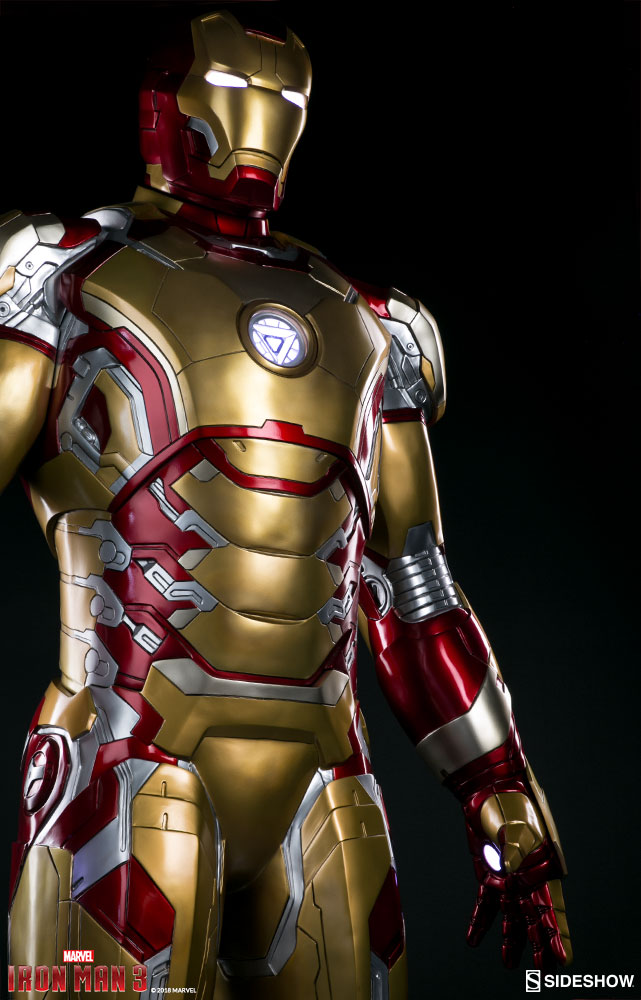 Pre orders live for life size iron man mark 42 by sideshow the toyark news - Image de iron man ...