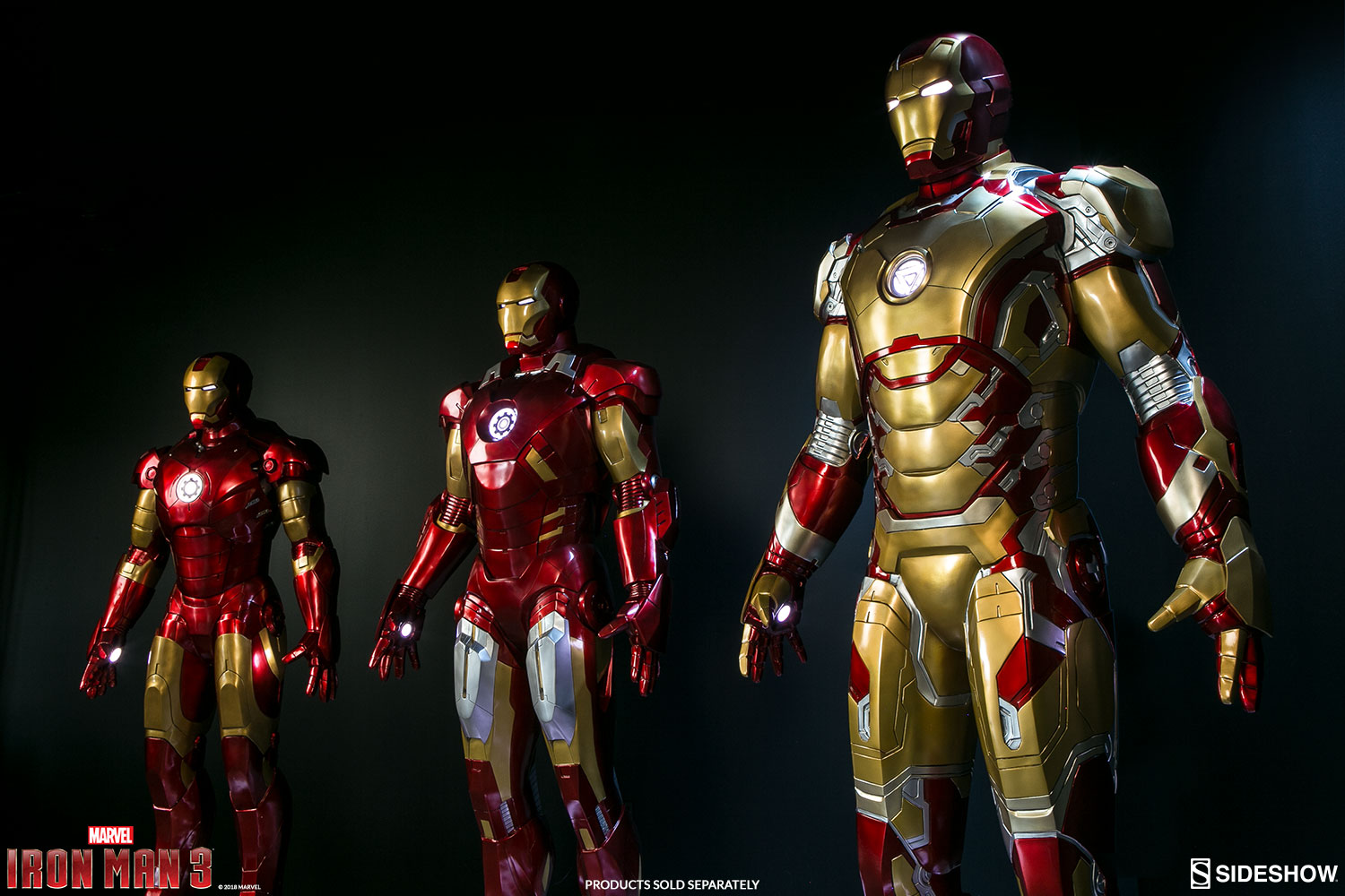 Imà Genes De Iron Man: Pre-Orders Live For Life Size Iron Man Mark 42 By Sideshow