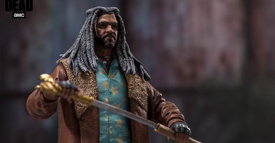 McFarlane Toys the Walking Dead TV Ezekiel Collectible Action Figure