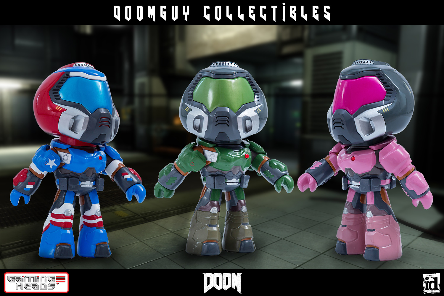 Doomguy Collectible Figures Coming From Gaming Heads The Toyark