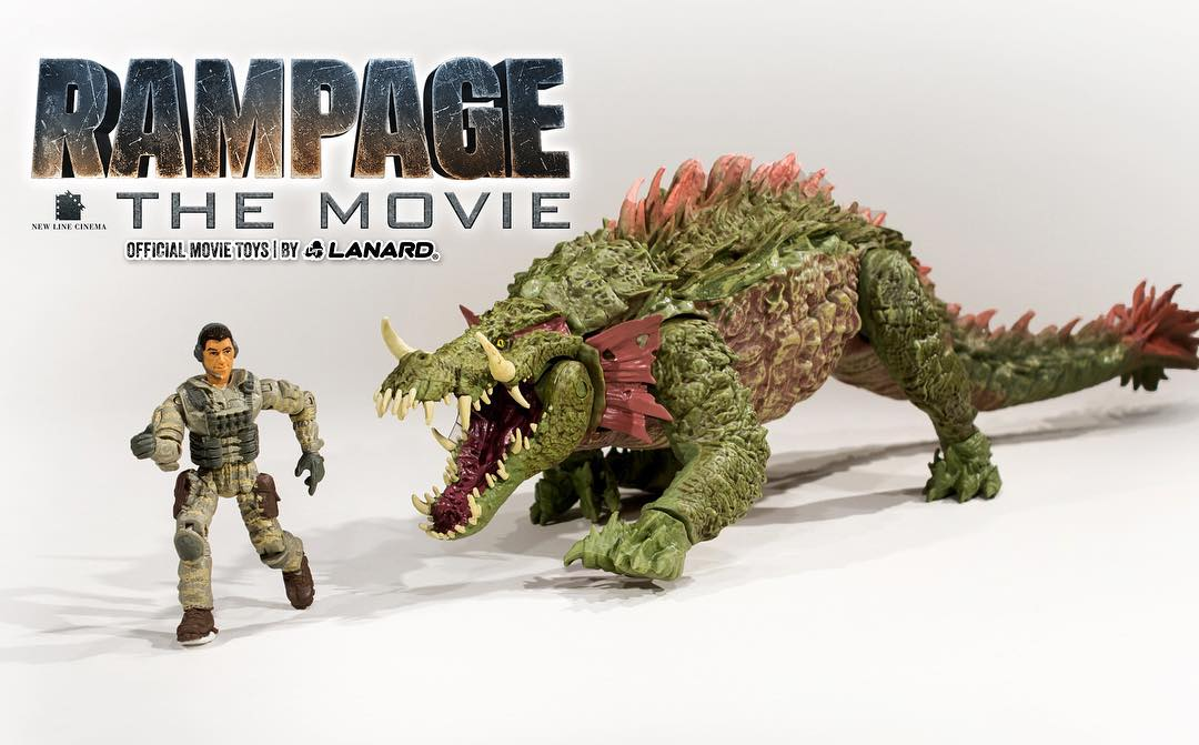 Official Website Launched For Rampage Movie Toys The Toyark News