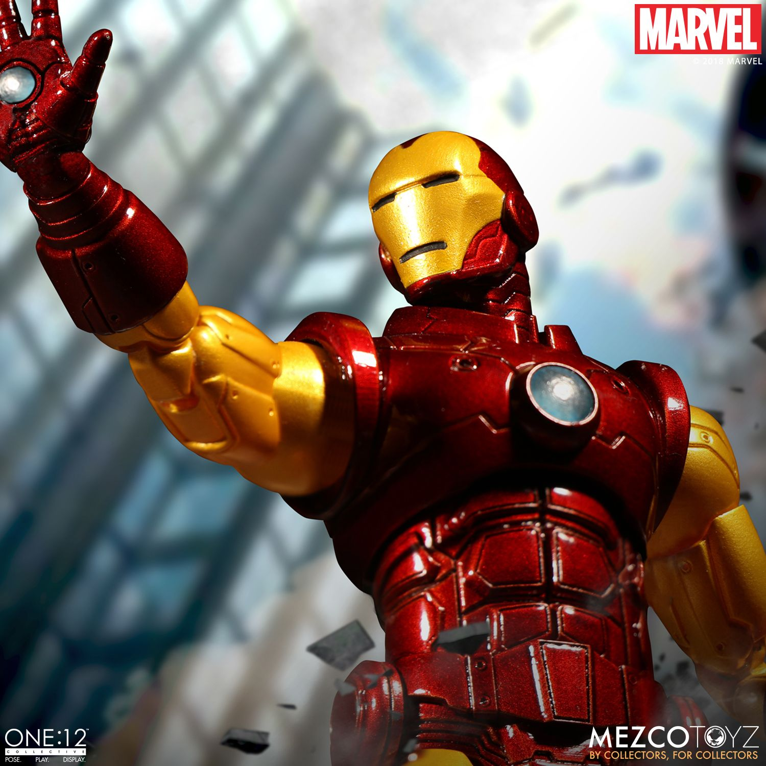 Mezco toyz iron man one 12 collective figure available to pre order the toyark news - Iron man 1 images ...
