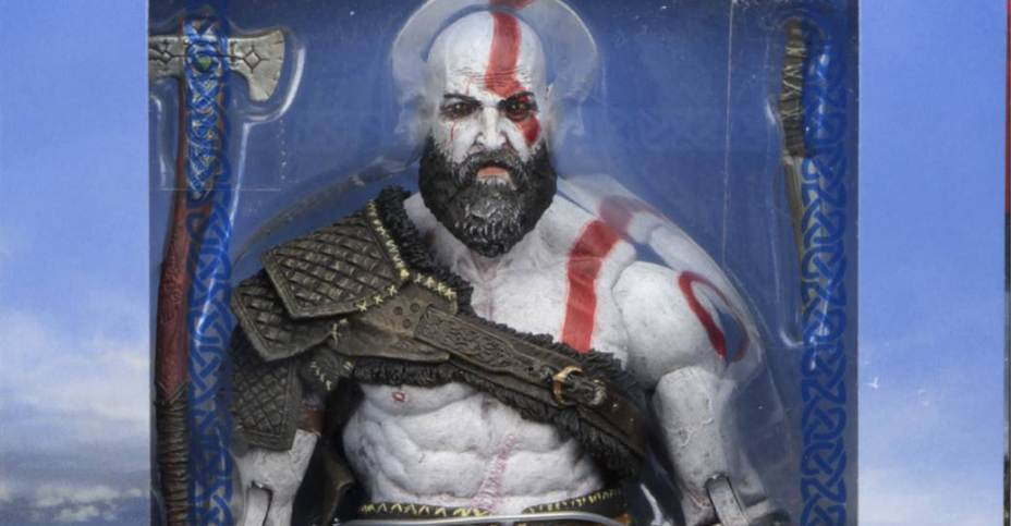 God Of War 4 Kratos 7 Inch Scale Figure In Packaging The