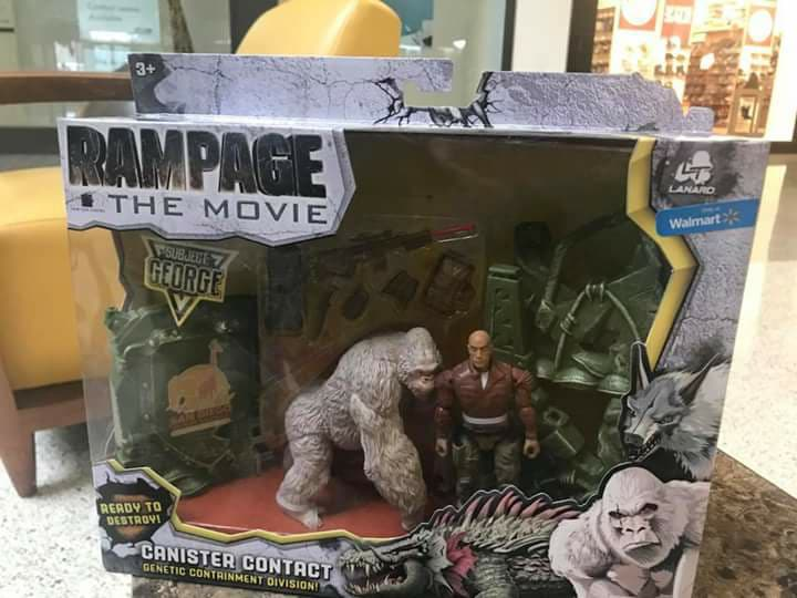 More Rampage Movie Toys Spotted In Stores The Toyark News