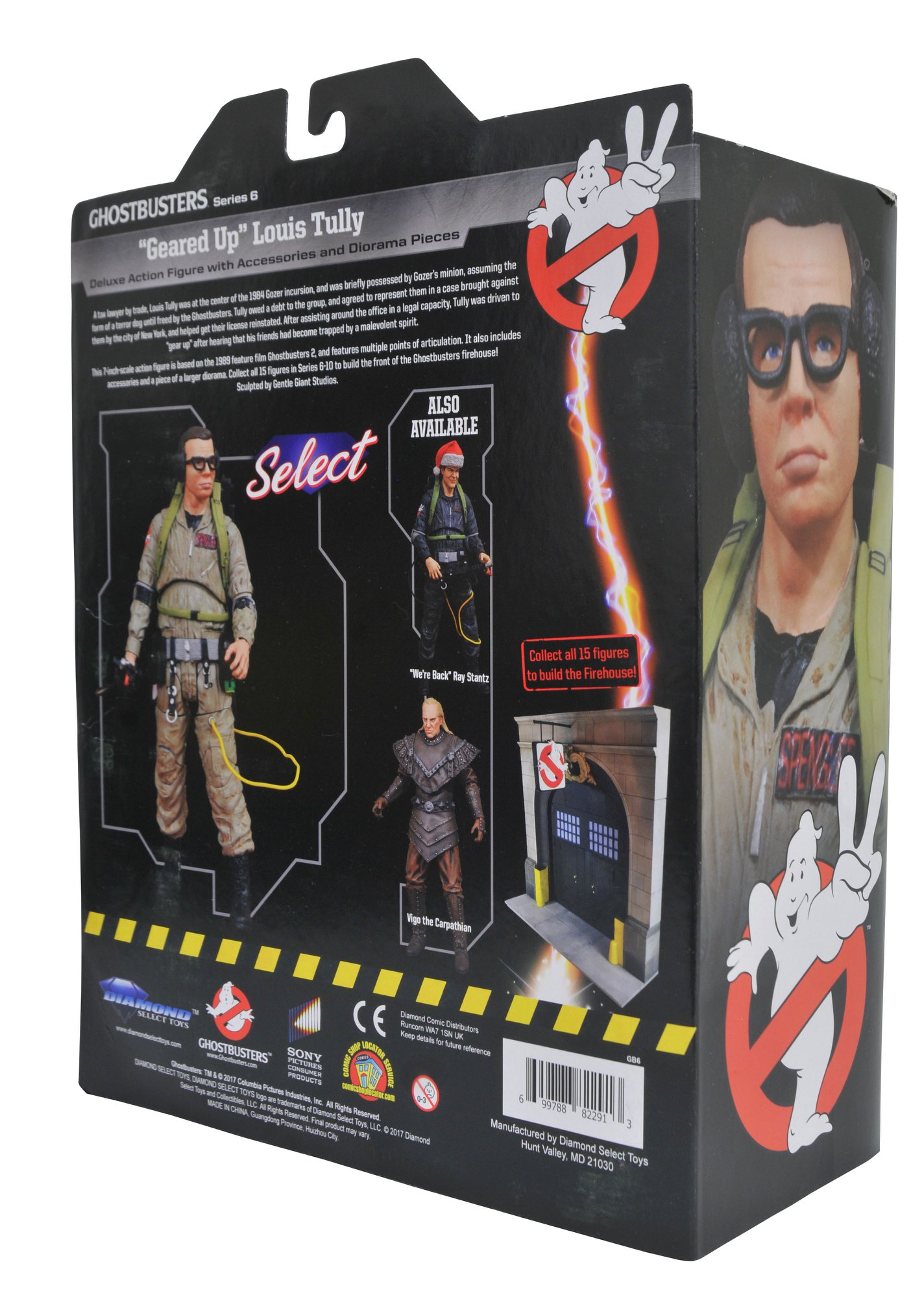 Ghostbusters Select Series 6 In-Packaging Photos by Diamond