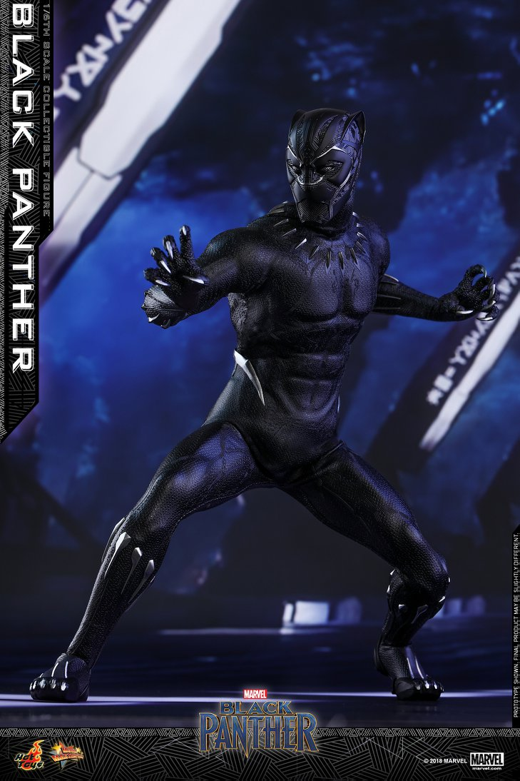 5492ad6802e New Black Panther 1 6 Scale Figure by Hot Toys - The Toyark - News