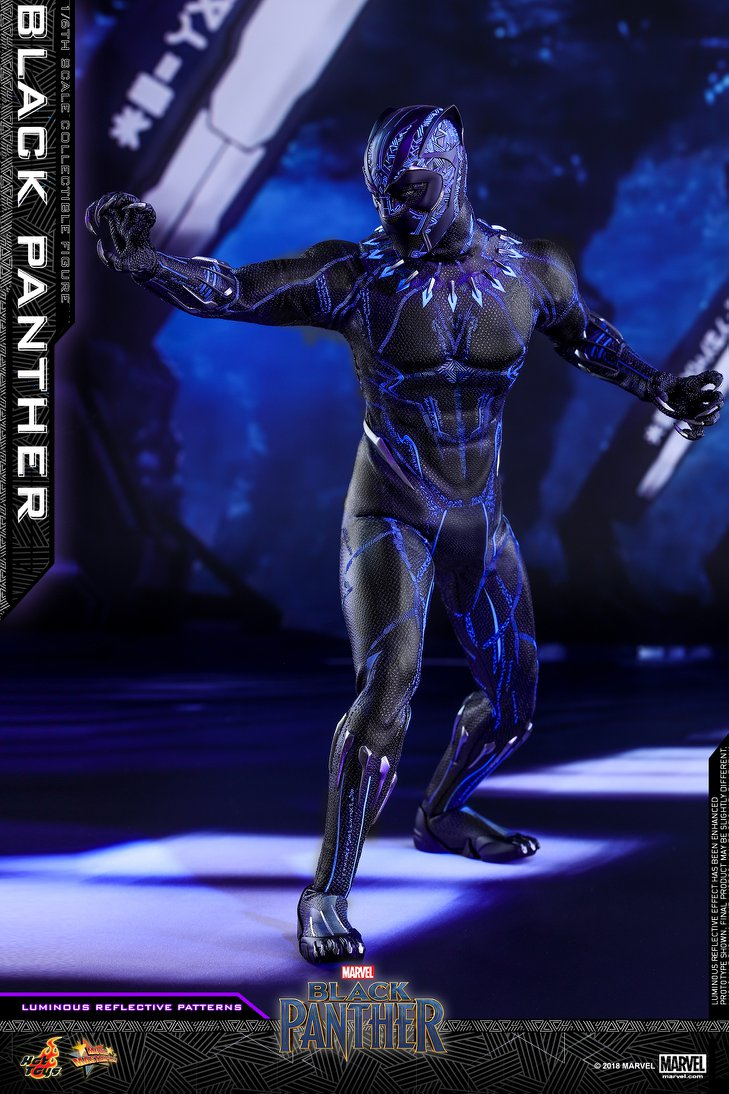 New Black Panther 1 6 Scale Figure By Hot Toys The Toyark News