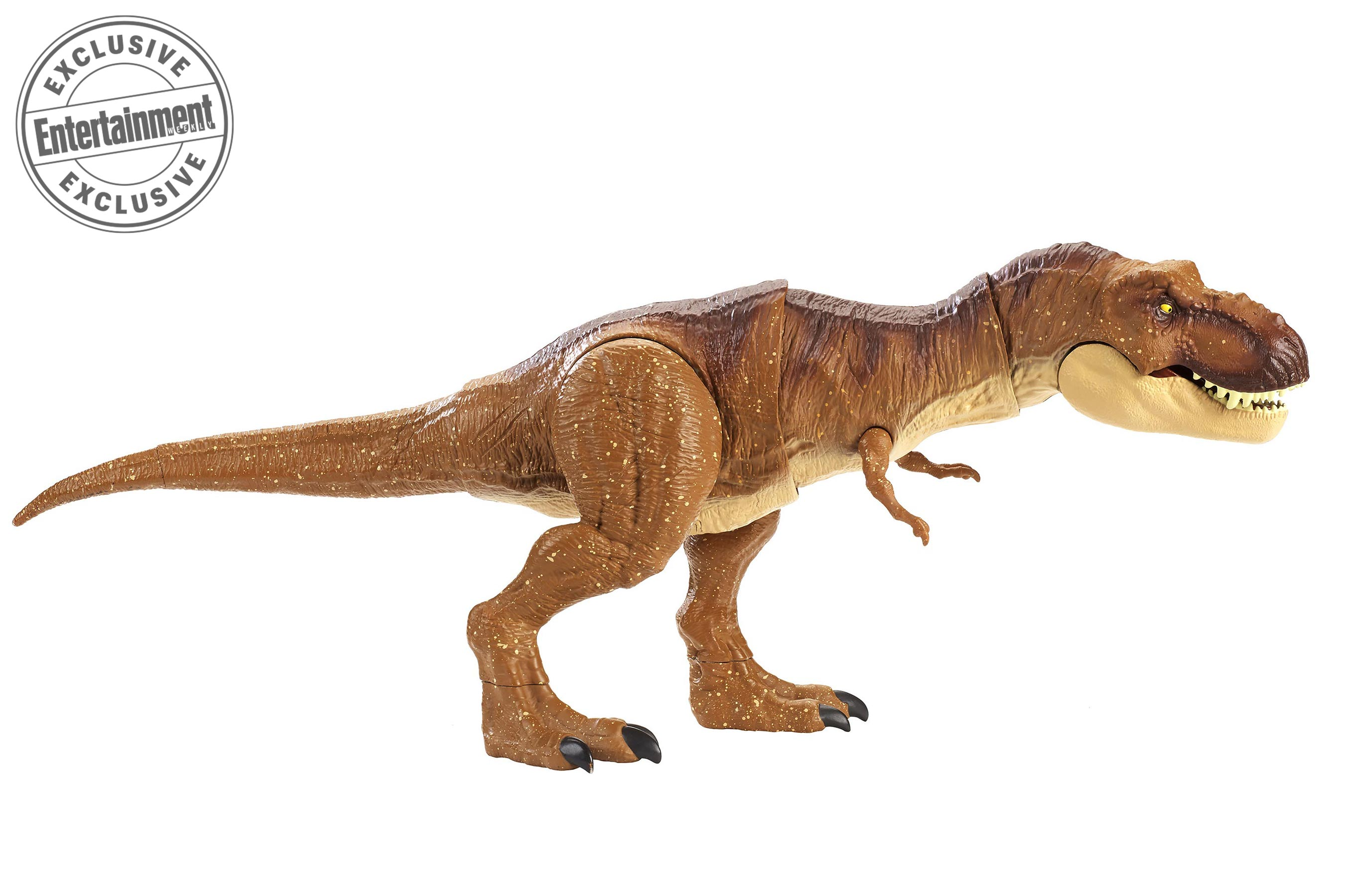 Tyrannosaurus Rex Toys : Mattel jurassic world fallen kingdom toys revealed the