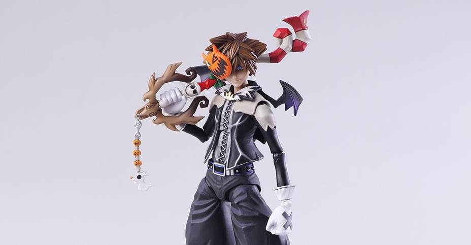 Bring Arts Riku Christmas Town Sora And Halloween Town Sora