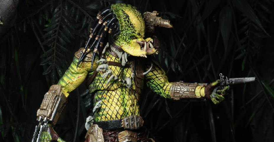 "The Golden Angel  7"" Scale Action Figure Predator 2 Ultimate Elder NECA"