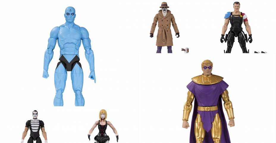 Dc Collectibles Doomsday Clock Action Figures Revealed The