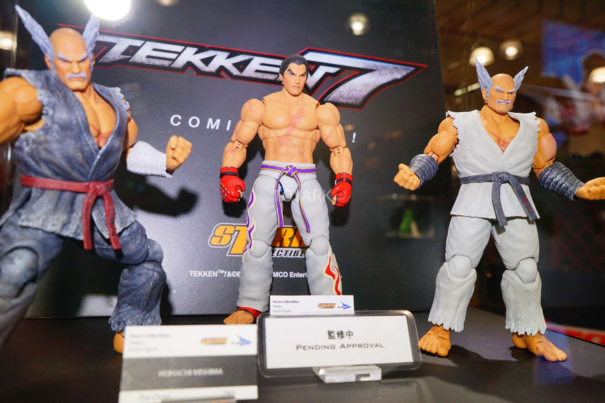 Toy Fair 2018 Gallery Storm King Of Fighters And Tekken At Bluefin Booth The Toyark News