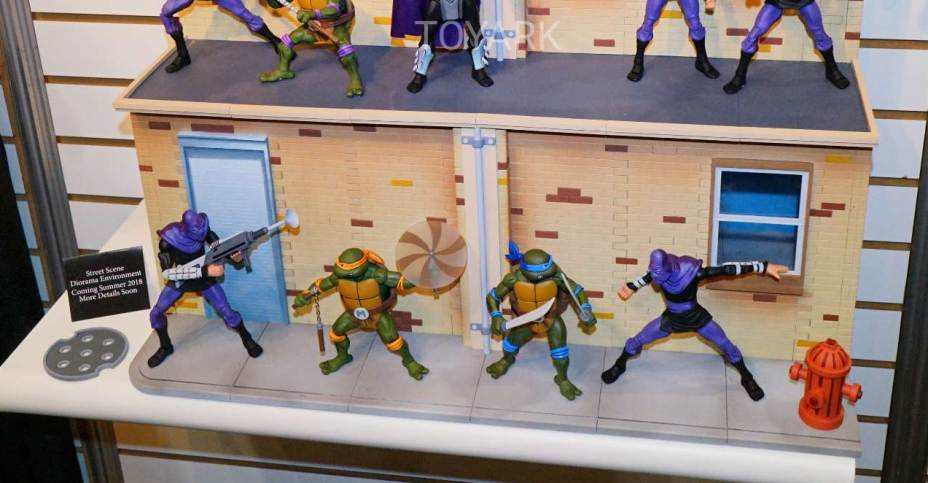 Toy Fair 2018 Gallery Neca Teenage Mutant Ninja Turtles New Street Dio The Toyark News