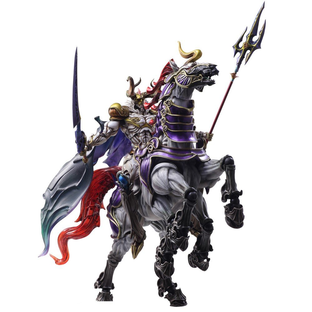 Bring Arts Final Fantasy Creatures - Odin and Sleipnir ...