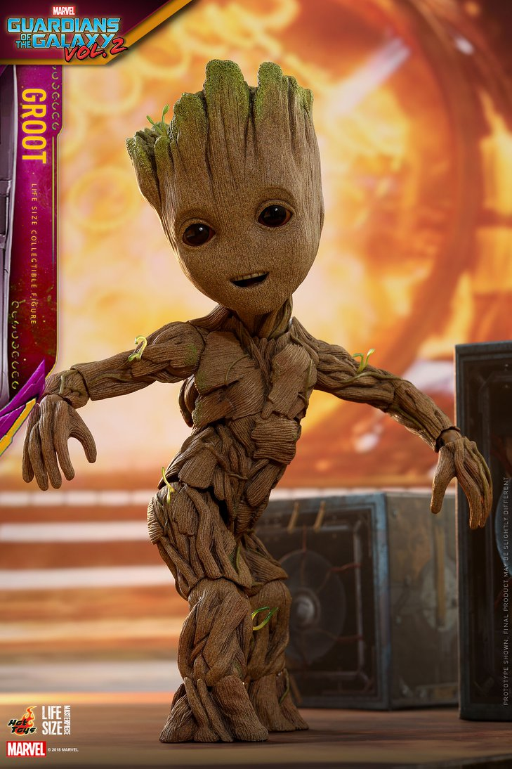 Toys For Life : Guardians of the galaxy vol life size baby groot by