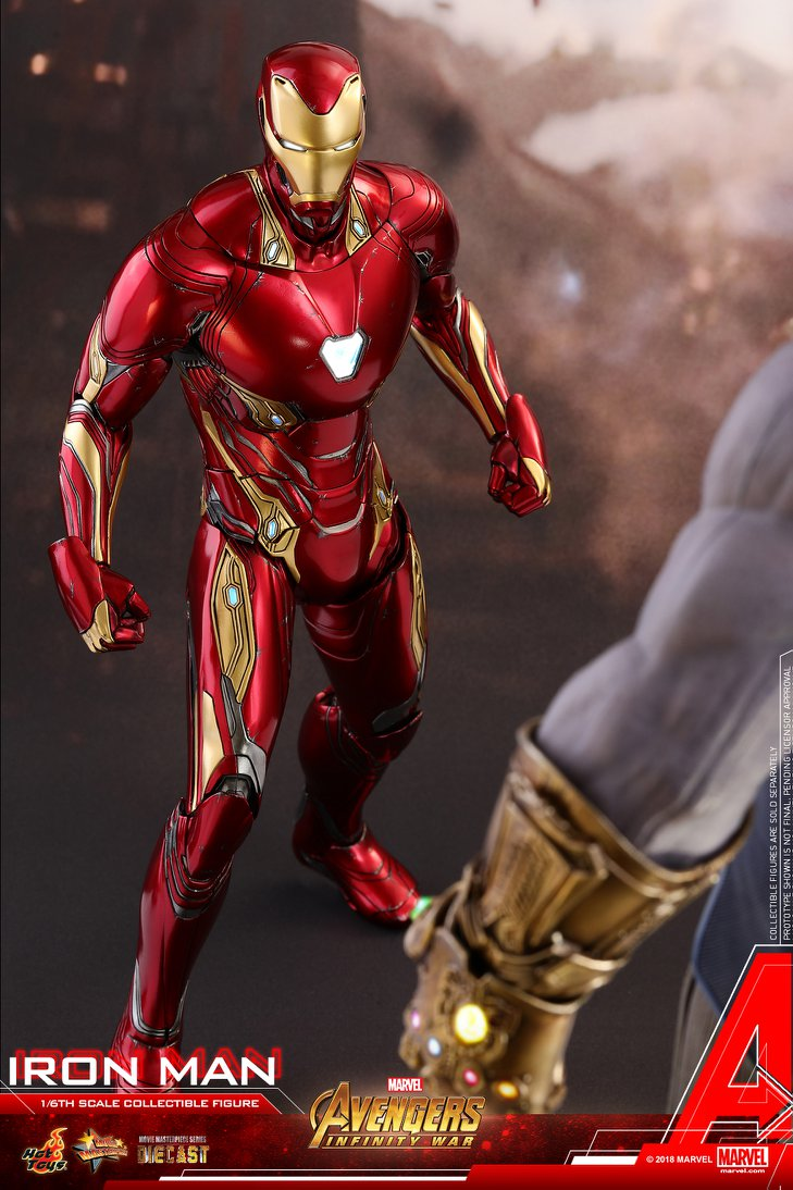 hot toys avengers infinity war - iron man mark 50 - the toyark - news