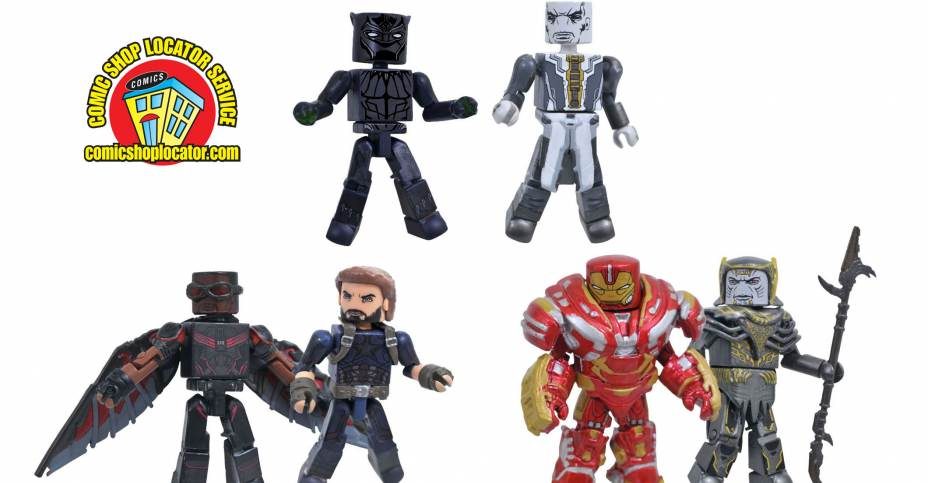 Marvel Minimates Toys R Us Avengers Infinity War Movie Wave 1 Mark 50 Iron Man