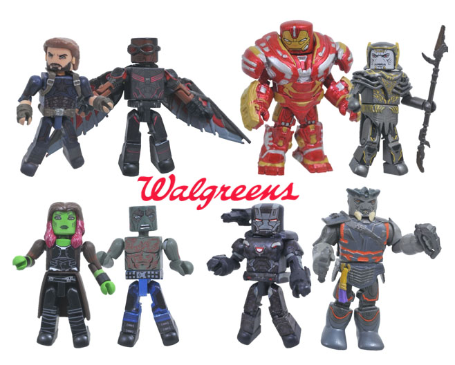 Avengers Infinity War Minimates Series 2 From Dst The