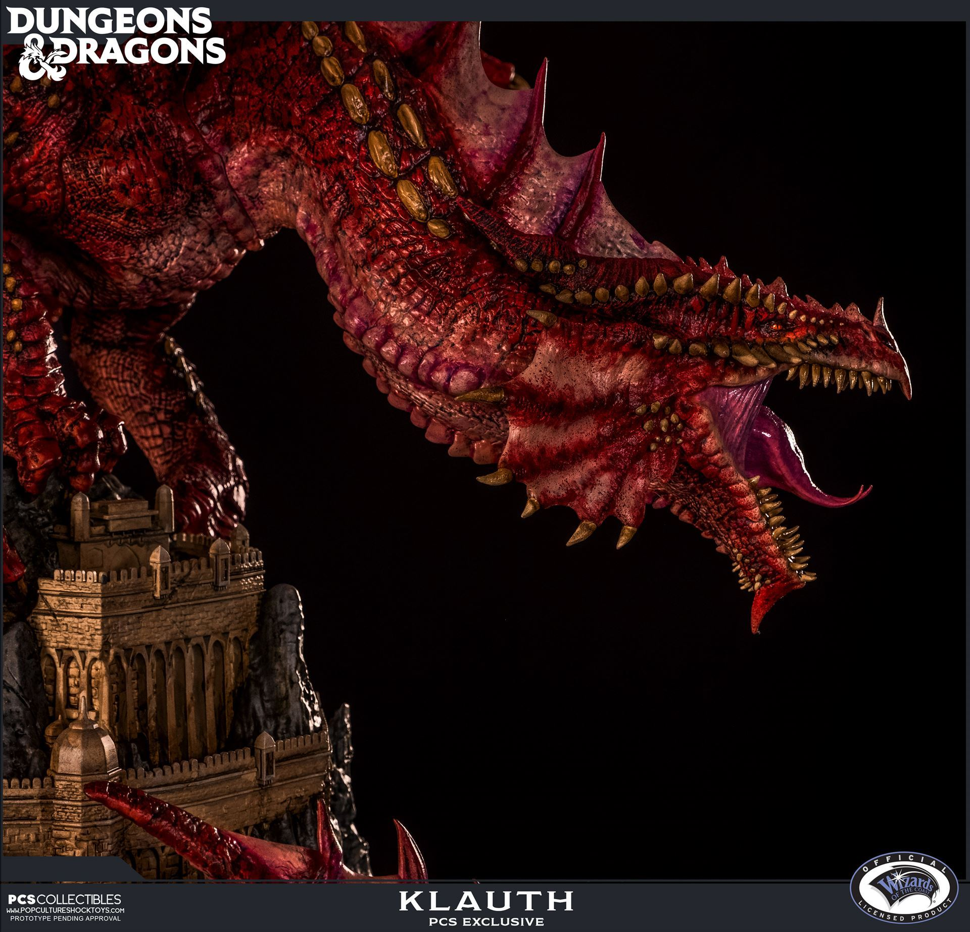 Dnd Red Dragon: Klauth The Red Dragon Statue Update