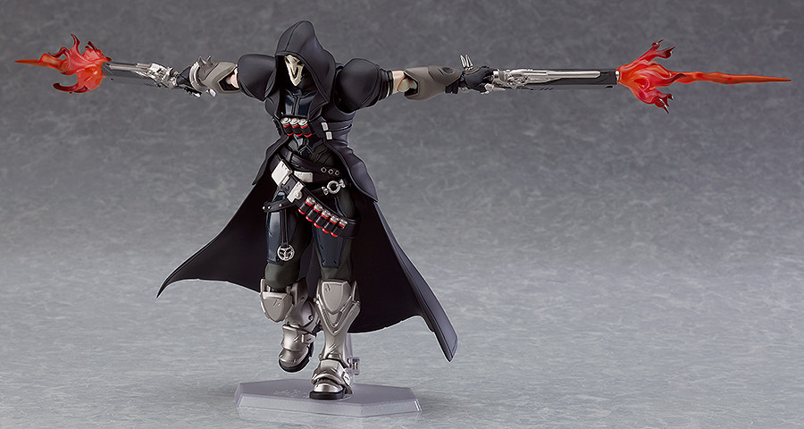 Reaper Added To The Figma Overwatch Line Up - The Toyark - News