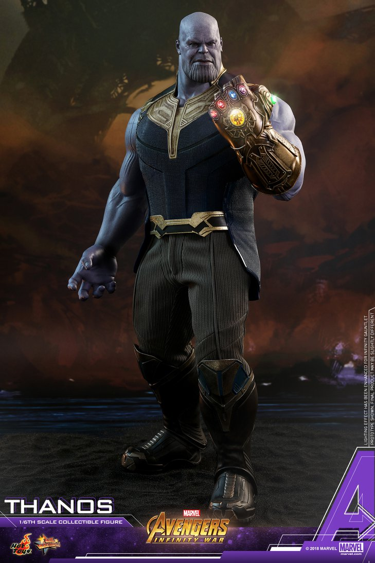 Avengers: Infinity War - Thanos Figure by Hot Toys - The ...