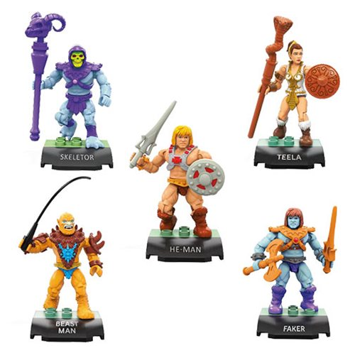 MEGA CONSTRUX MASTERS OF THE UNIVERSE SKELETOR IN HAND!