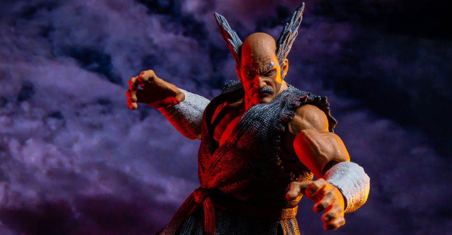 Storm Collectibles Tekken 7 Heihachi Mishima Figure Toyark Photo Shoot The Toyark News
