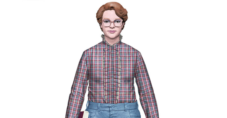 Stranger Things Barb And Life Size Baby Dart By