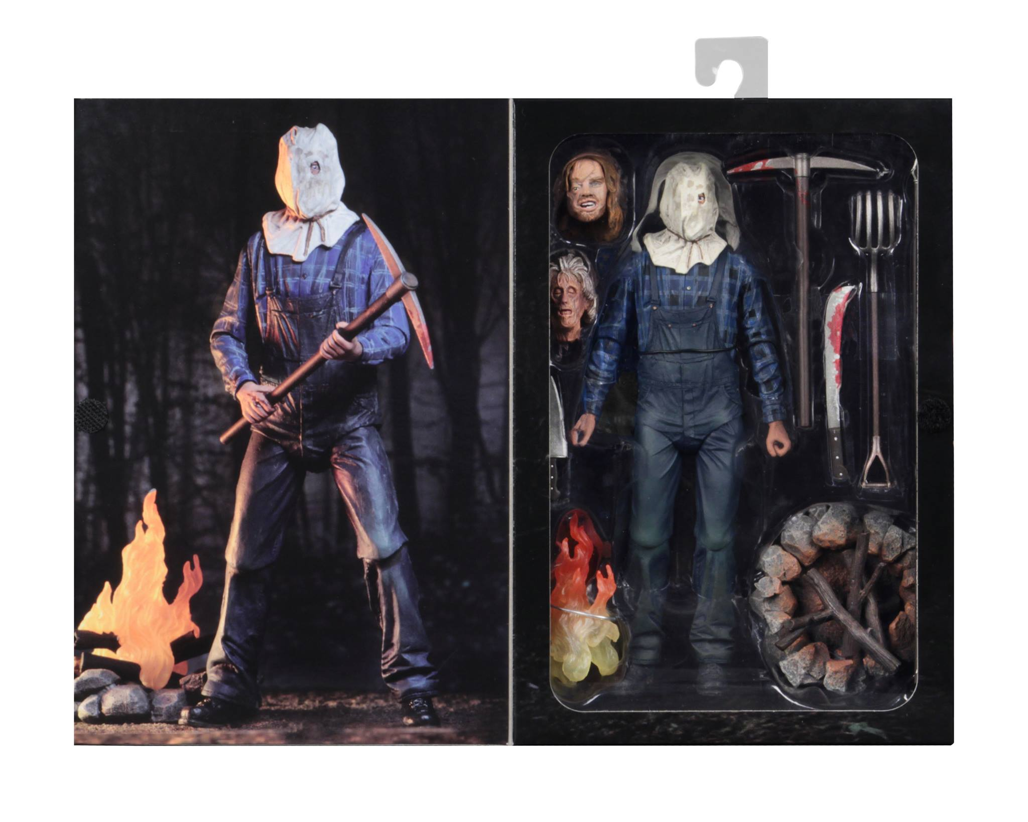 Friday the 13th Part IV 3D JASON VOORHEES Scale Ultimate Action Figure 7/""