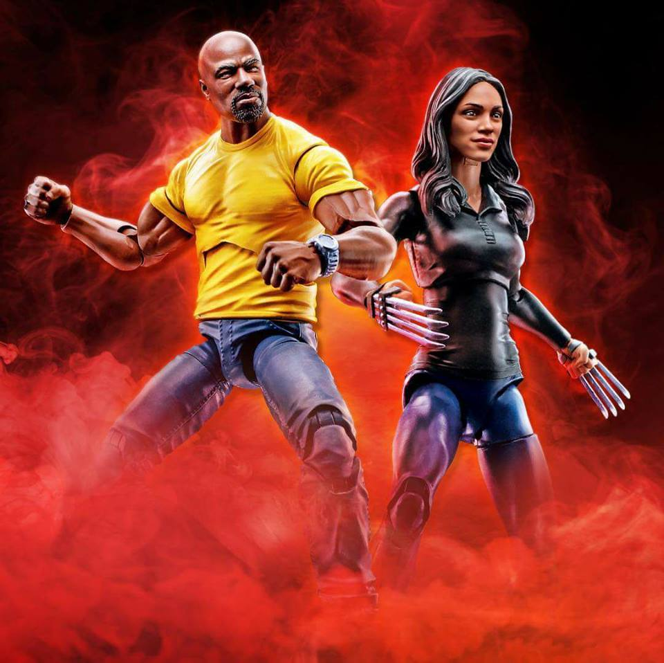 """Claire Temple Marvel Legends 6/"""" Figure from Luke Cage Netflix with accessories"""