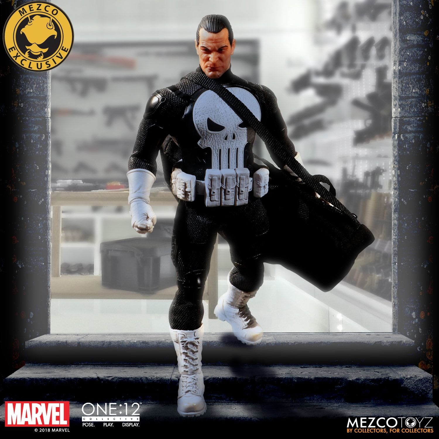 New Punisher Special Ops Edition Exclusive Figure Free Shipping Spec SDCC BNIB
