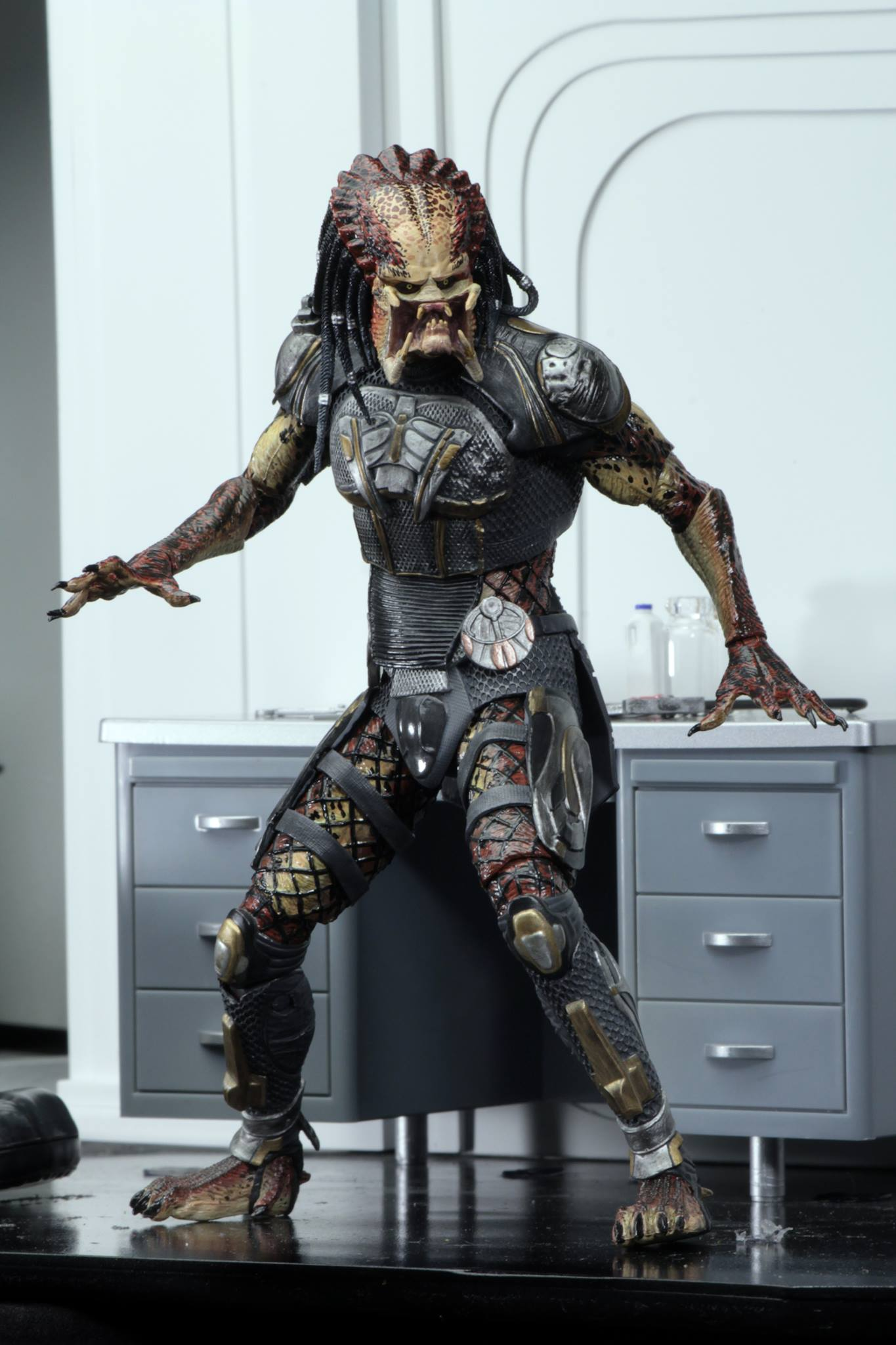 Behind-The-Scenes Look at the Assassin Predator and Fugitive