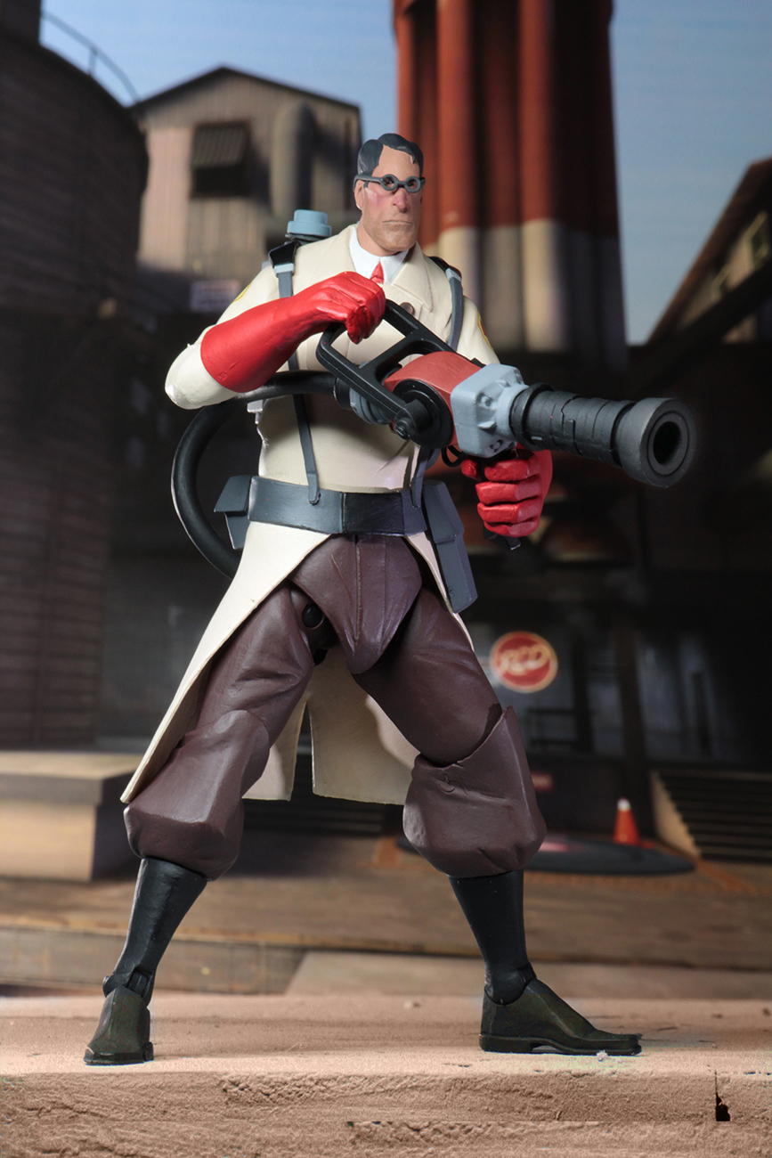 Team Fortress 2 Series 4 - RED Figures by NECA - The Toyark - News