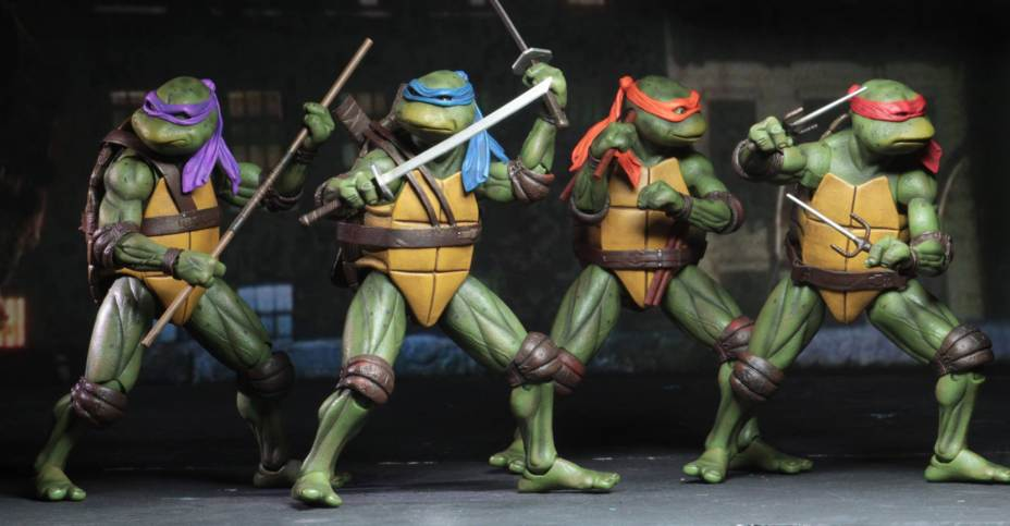 TMNT Custom Nunchaku 1:12 weapon Neca turtle Action Figure Ninja Michelangelo