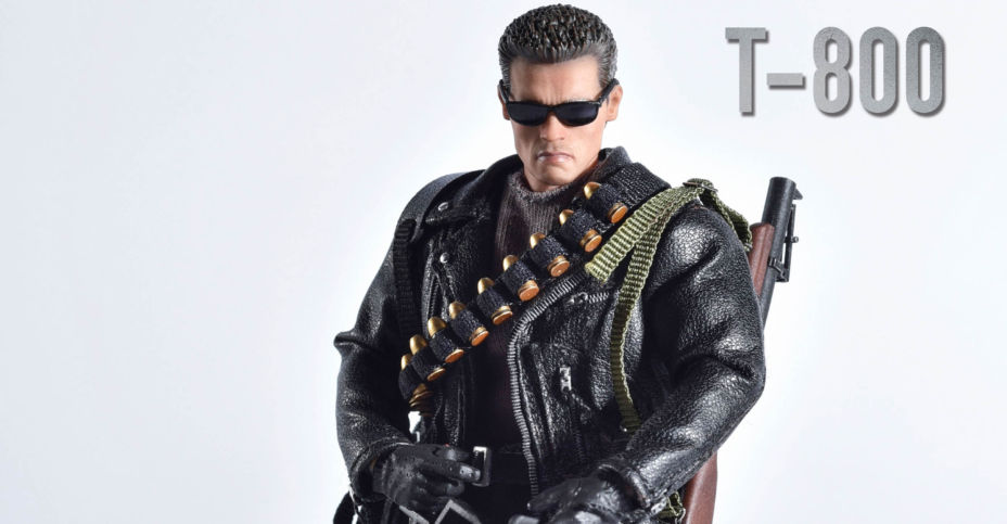 Pre-order GREAT TWINS 1//12 Scale T-800 Terminator 2 6in Figure Judgement Day