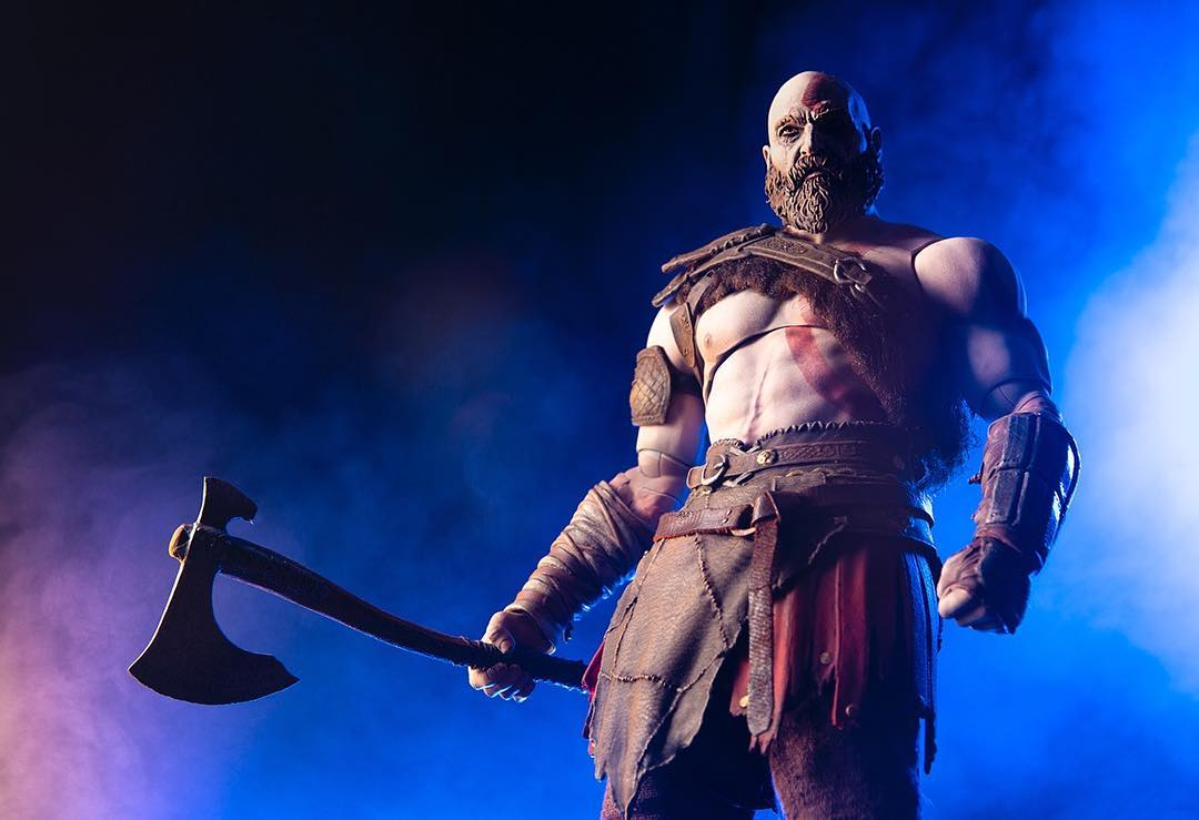 Mondo God Of War Kratos 1 6 Scale Figure Preview The
