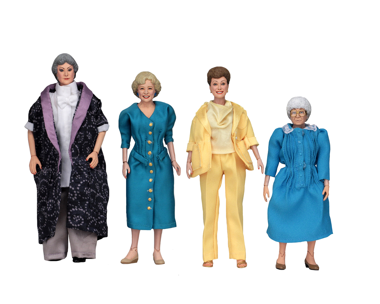 Sdcc 2018 Neca Golden Girls 8 Inch Scale Figures The