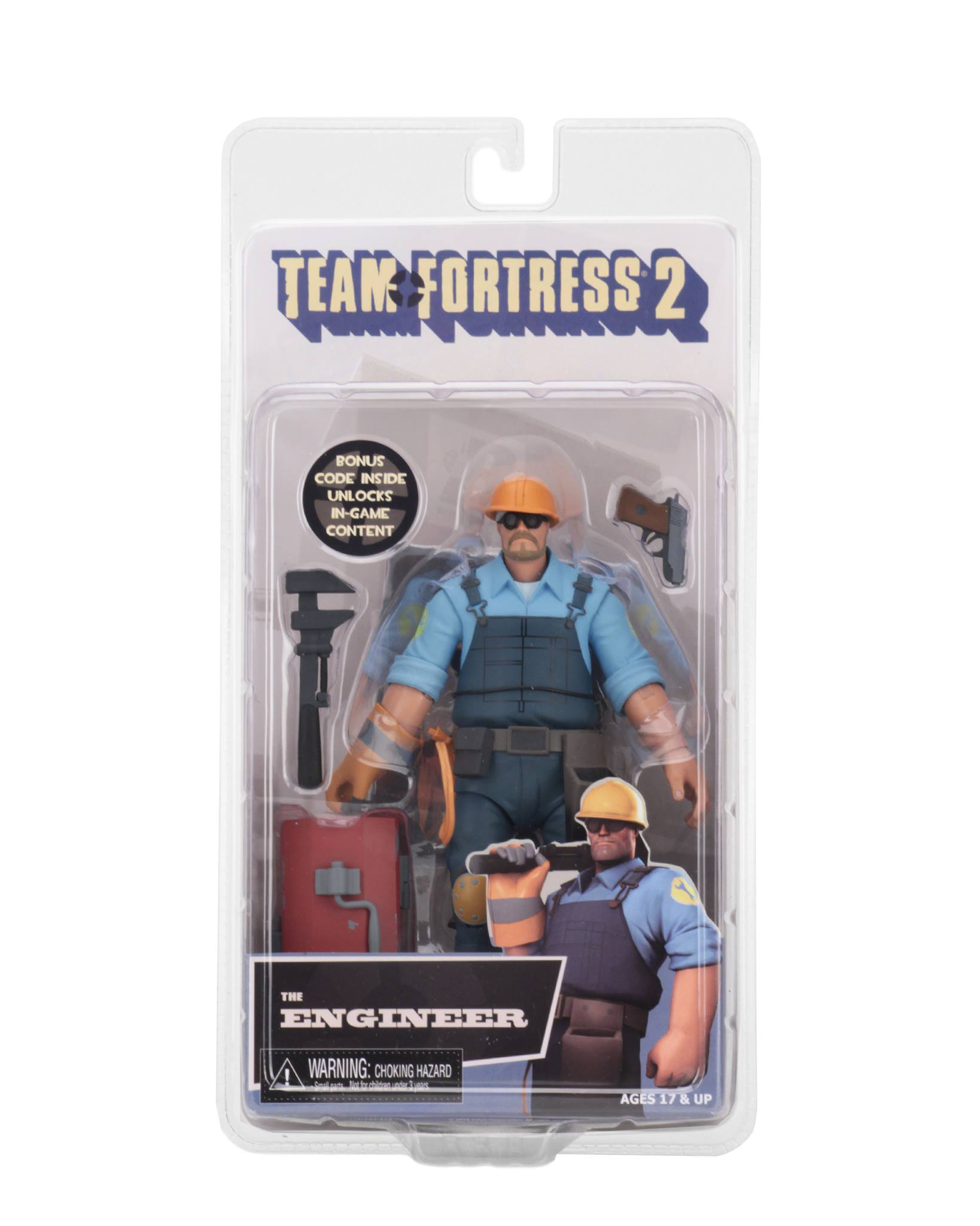 NECA Team Fortress 2 Series 3 5 BLU Figures Final Packaging Photos