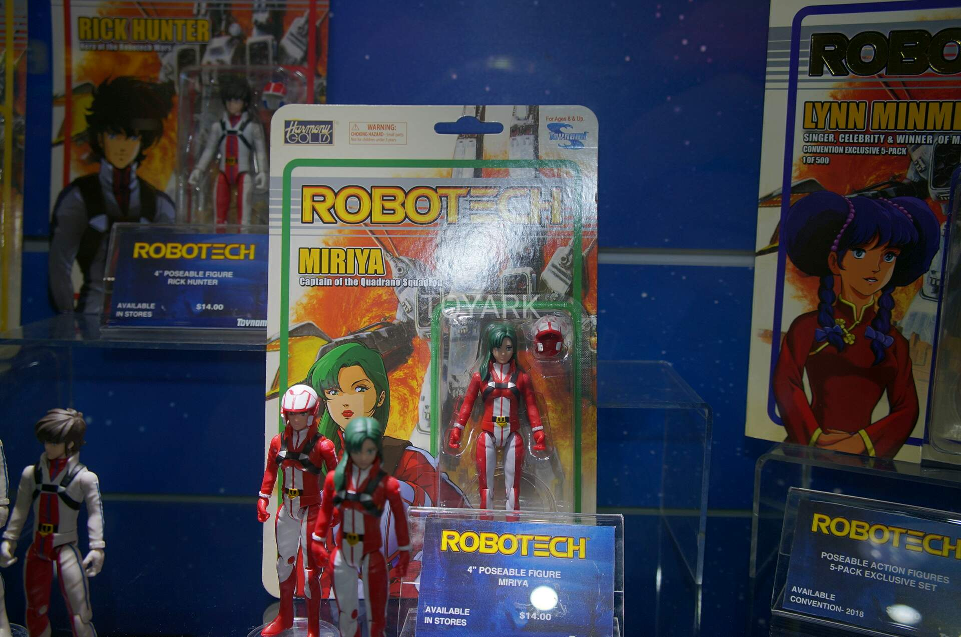 "Miriya San Diego comic-con Toynami Robotech Exclusive 4/"" Inch Action Figure"