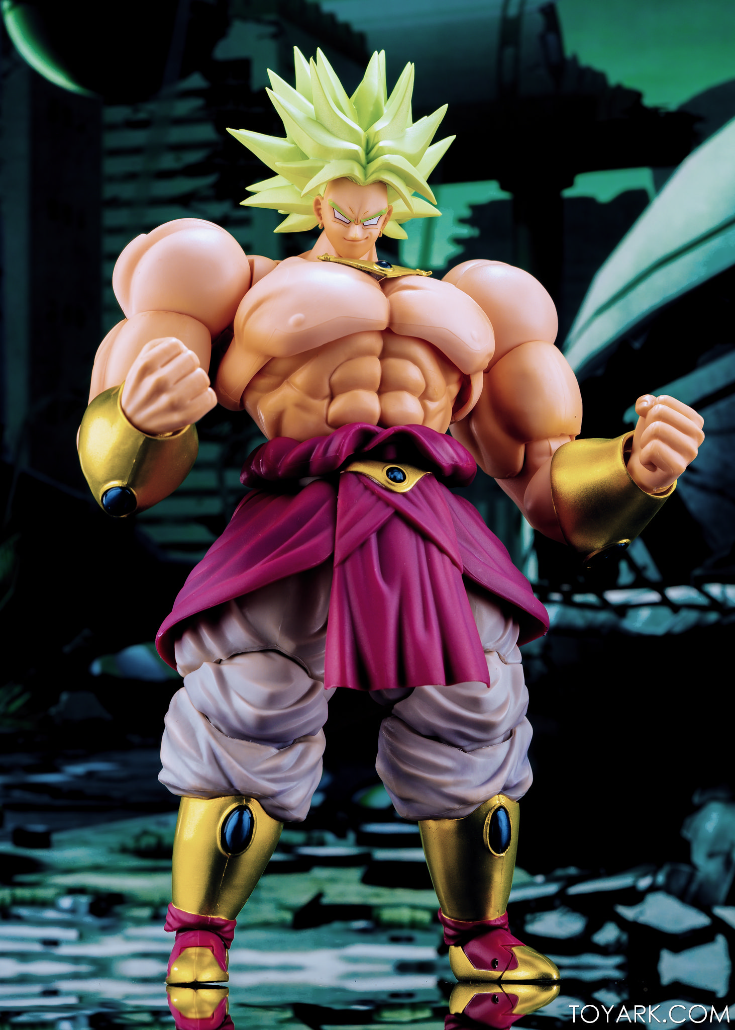H Figuarts Broly SDCC 2018 Exclusive Tamashii Nation Bluefin S