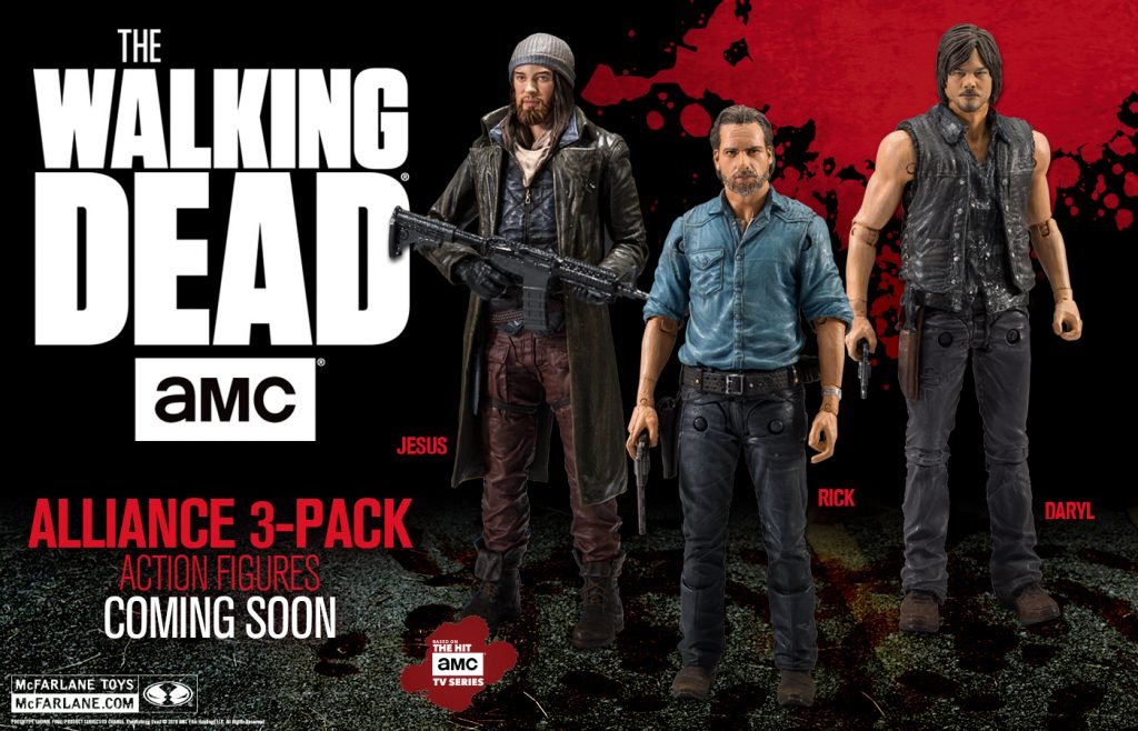 Updated Photos of the The Walking Dead TV Series Allies 5-Inch Scale