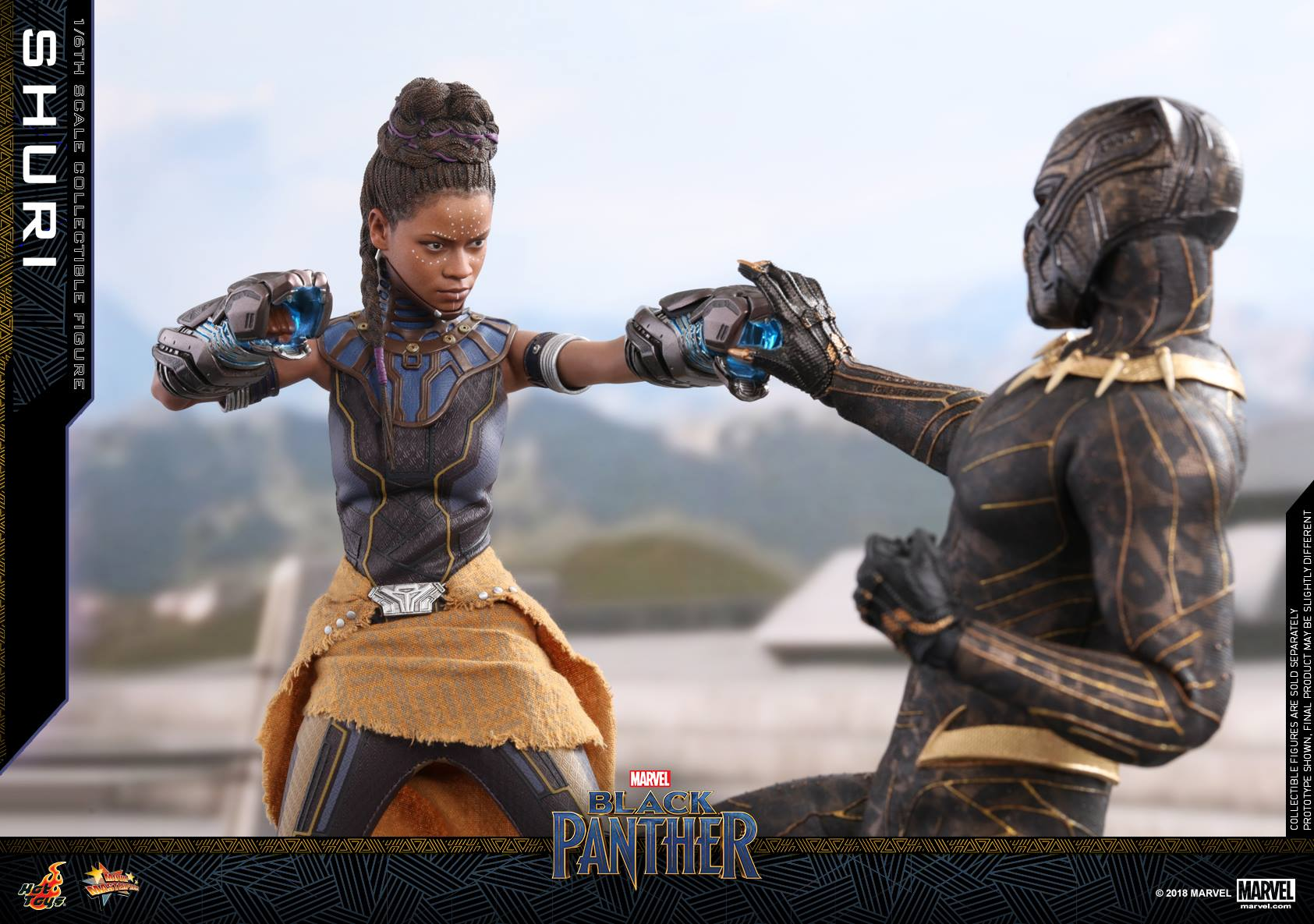 Black Panther Shuri 1 6 Scale Figure By Hot Toys The