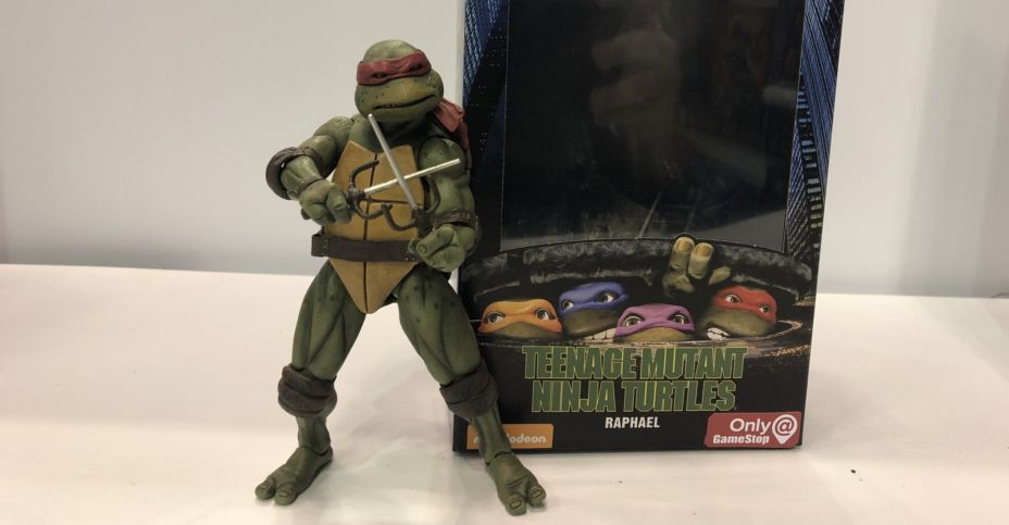 Neca Shows Packaging For Gamestop Exclusive Tmnt Figures The