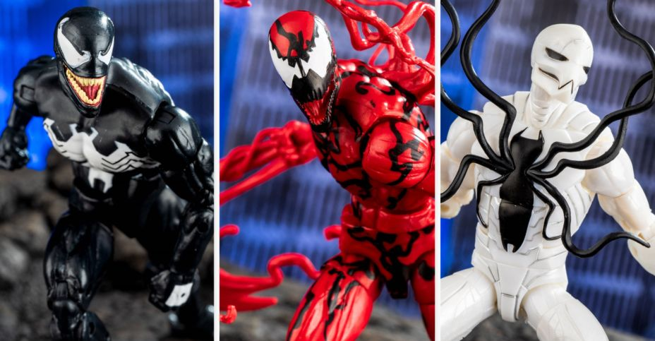 Marvel Spiderman Venom et carnage Action Figure 2-Pack