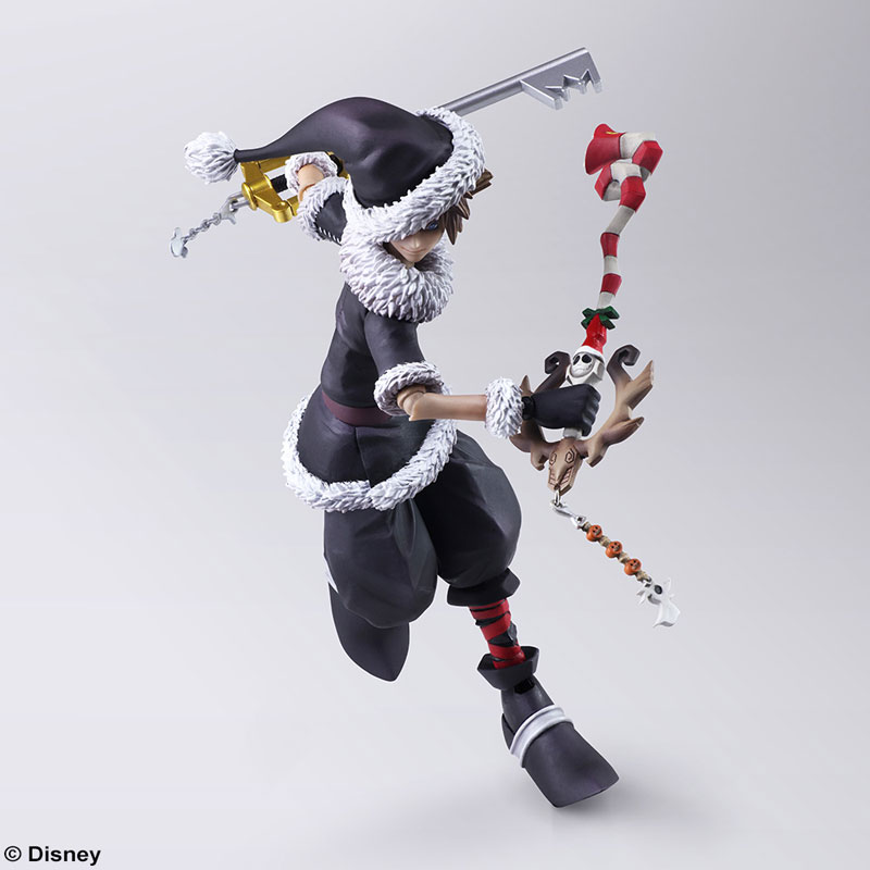 Nightmare Before Christmas Sora.Bring Arts Kingdom Hearts 2 Halloween Town And Christmas