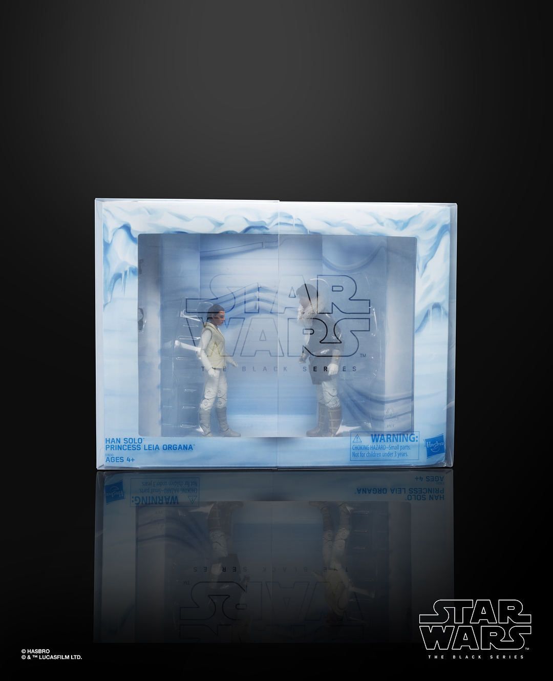 Star Wars The Black Series Hoth 2 Pack Han /& Leia Convention Excl NEW