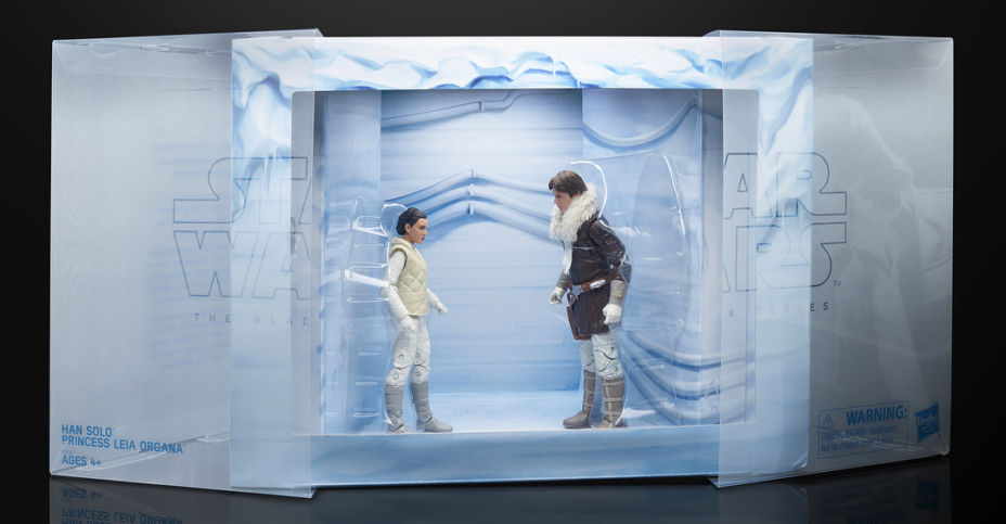 "STAR WARS BLACK SERIES 6/"" HOTH HAN SOLO /& PRINCESS LEIA ORGANA EXCLUSIVE 2 PACK"