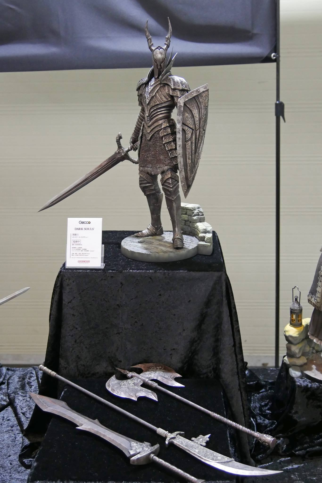 Gecco Black Knight Statue From Dark Souls Revealed The