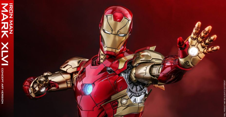 Marvel Studios The First 10 Years Concept Art Iron Man Figure By